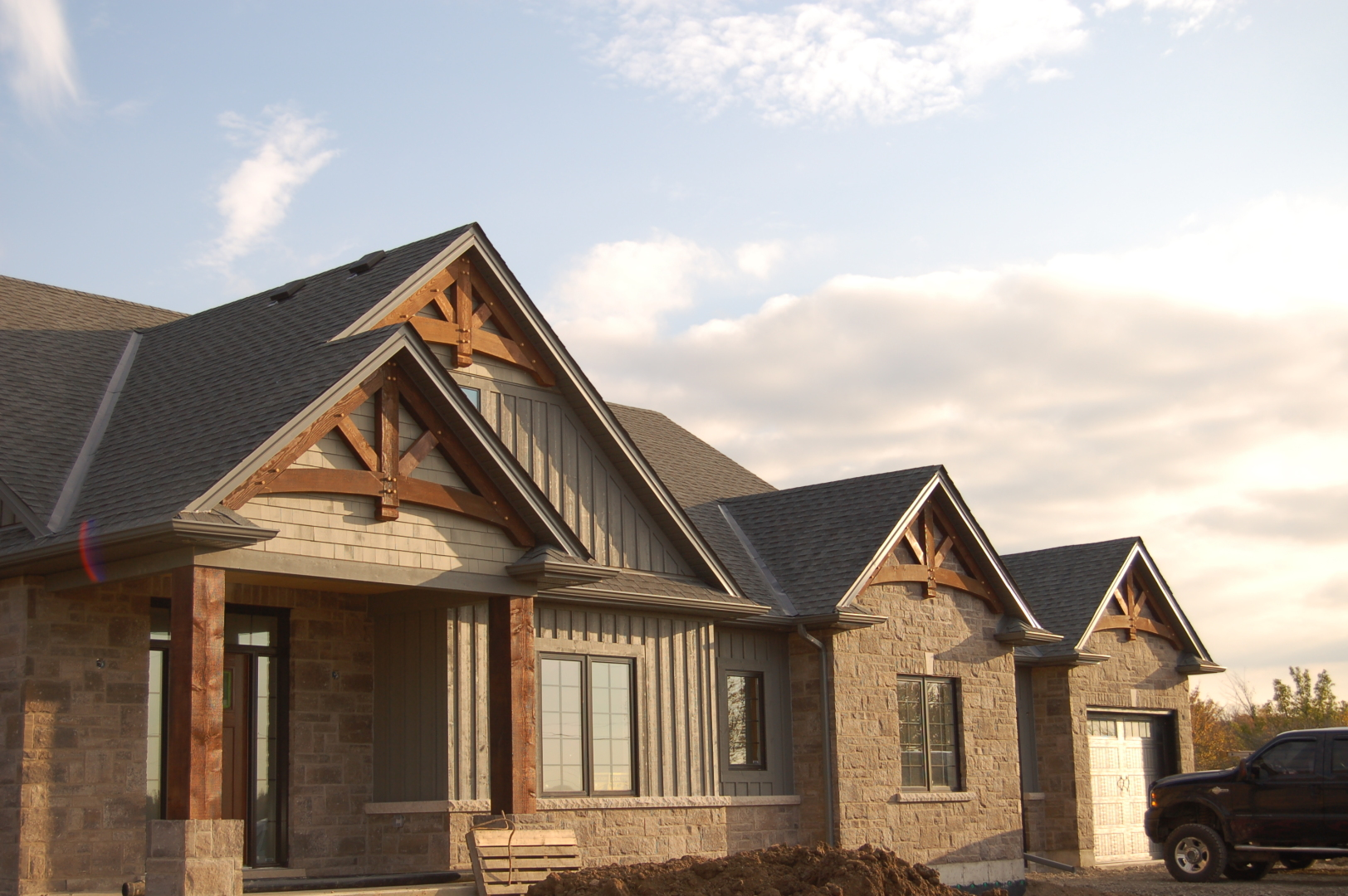 Stoney Creek Gables Trusses Timber Frame Solutions